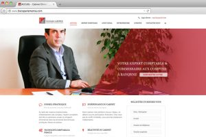 aperçu du site internet de Christophe Laborde comptable