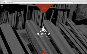 la page d'accueil du site web Aiciria Longskates