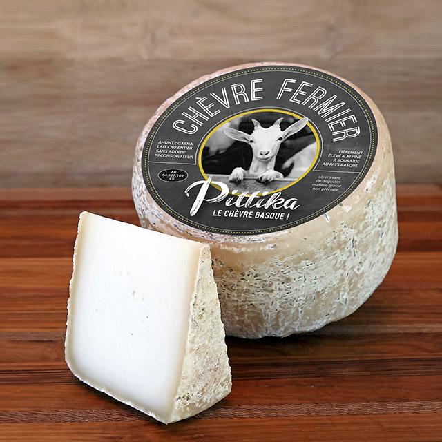 étiquette fromage de chèvre Pays Basque