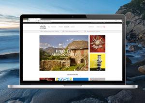 aperçu home page boutique Arteaz-Pimientos